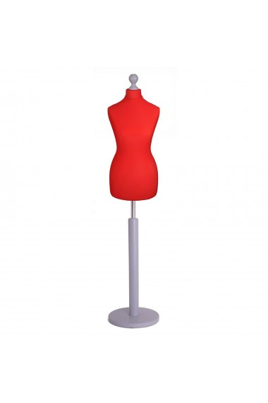 Deluxe Female Tailor's Dummy Size 10/12 Red