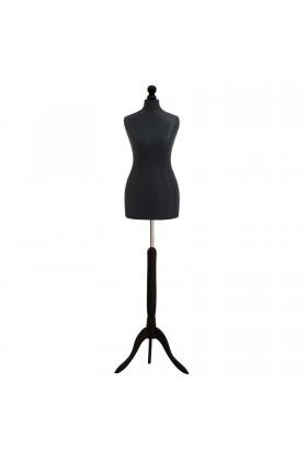 Female Tailor's Dummy Size 12/14 Black