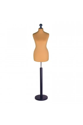 Size 10/12 Female Tailors Dummy Gold