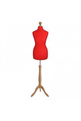 Size 18/20 Female Tailors Dummy Red