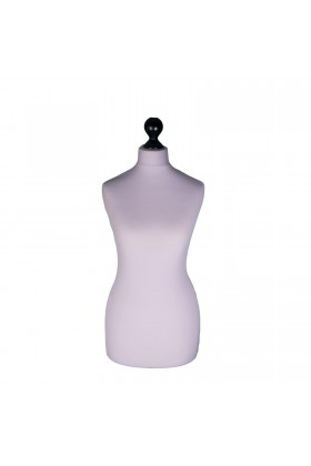 Female Tailor's Dummy Torso Size 6/8 Silver