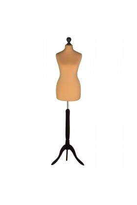 Size 18/20 Female Tailors Dummy Gold