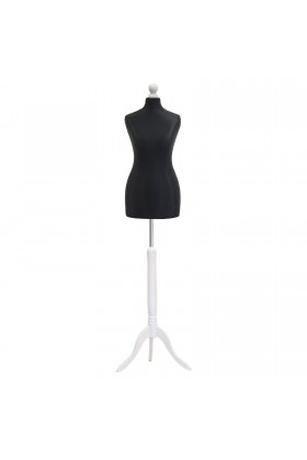 Size 18/20 Female Tailors Dummy Black