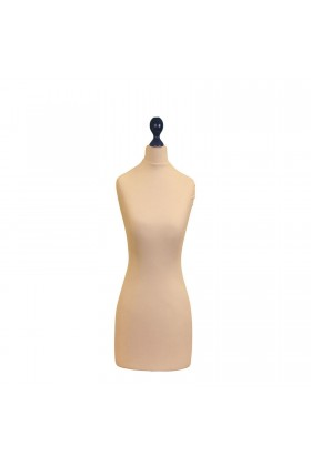 Female Tailor's Dummy Torso Size 12/14 Cream