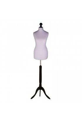 Deluxe Female Tailor's Dummy Size 6/8 Silver