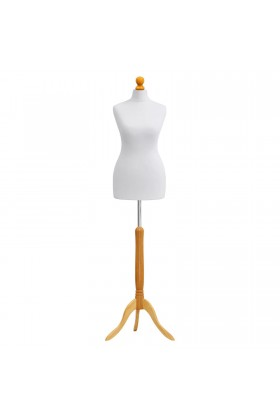 Size 10/12 Female Tailors Dummy White