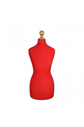 Female Tailor's Dummy Torso Size 16/18 Red