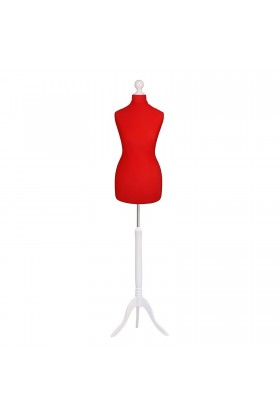 Size 10/12 Female Tailors Dummy Red