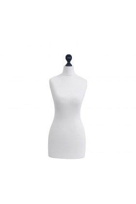 Female Tailor's Dummy Torso Size 10/12 White