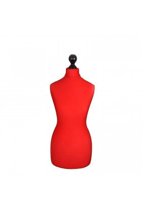 Female Tailor's Dummy Torso Size 20/22 Red