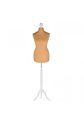 Female Tailor's Dummy Size 6/8 Gold