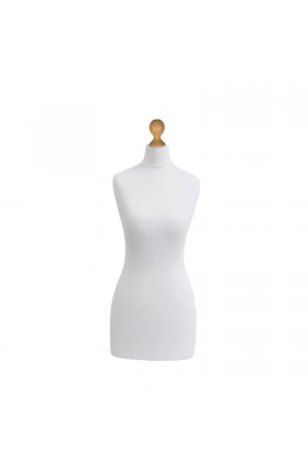 Female Tailor's Dummy Torso Size 20/22 White