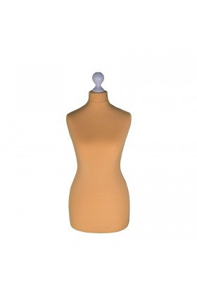 Female Tailor's Dummy Torso Size 6/8 Gold