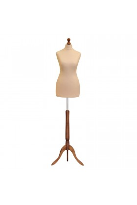 Size 20/22 Female Tailors Dummy Cream