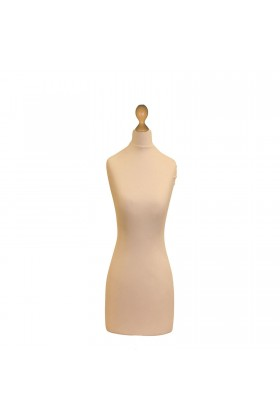 Female Tailor's Dummy Torso Size 8/10 Cream