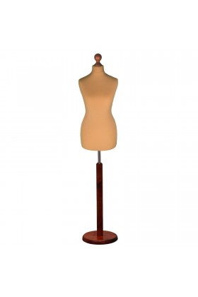 Female Tailor's Dummy Size 12/14 Gold