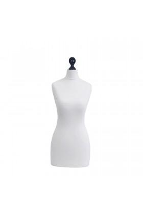 Female Tailor's Dummy Torso Size 6/8 White
