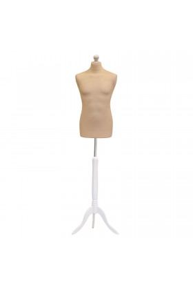 Male Tailors Dummy Size Medium 39/41 Cream