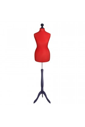 Female Tailor's Dummy Size 8/10 Red