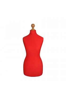 Female Tailor's Dummy Torso Size 12/14 Red