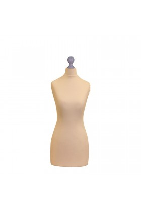 Female Tailor's Dummy Torso Size 10/12 Cream