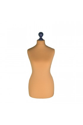 Female Tailor's Dummy Torso Size 8/10 Gold