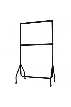 3ft LoPack Garment Rail + 3ft LoPack Centre Bar  + 18in Extension