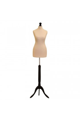 Size 10/12 Female Tailors Dummy Cream