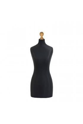 Female Tailor's Dummy Torso Size 16/18 Black