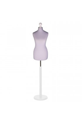 Size 20/22 Female Tailors Dummy Silver